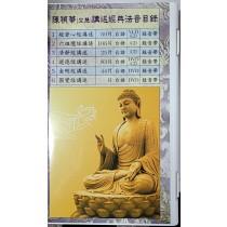 〈免費結緣〉金剛經DVD(40片) 共計一盒裝   陳禎華資深講師